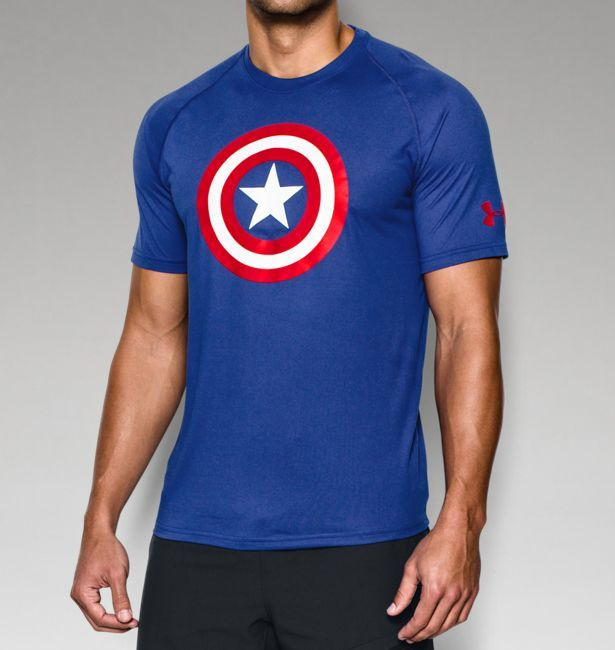 Men's Under Armour® Alter Ego Captain America Core T-Shirt | Under Armour US