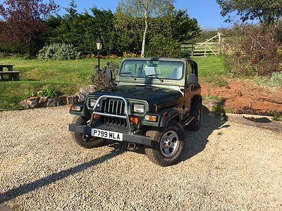 ebay jeep wrangler auto 4 0l 1996 68k miles needs work to pass mot rh pinterest co uk