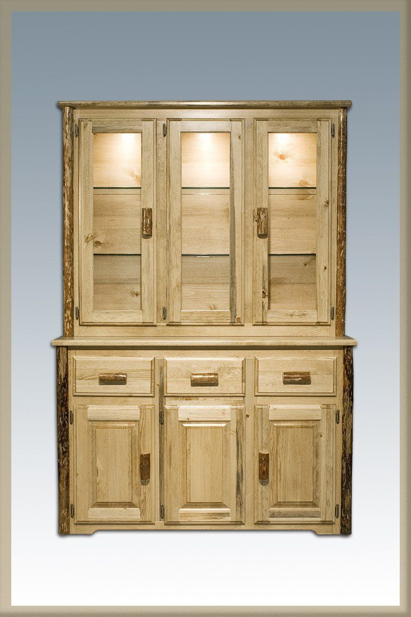 montana woodworks mwgcchld china hutch glacier country products rh pinterest co uk