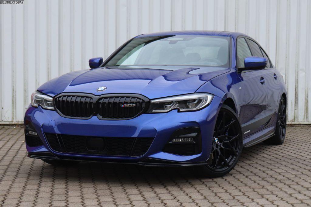 Bmw 330i In Portimao Blue Gets Some M Performance Upgrades Bmw Bmw Touring New Bmw