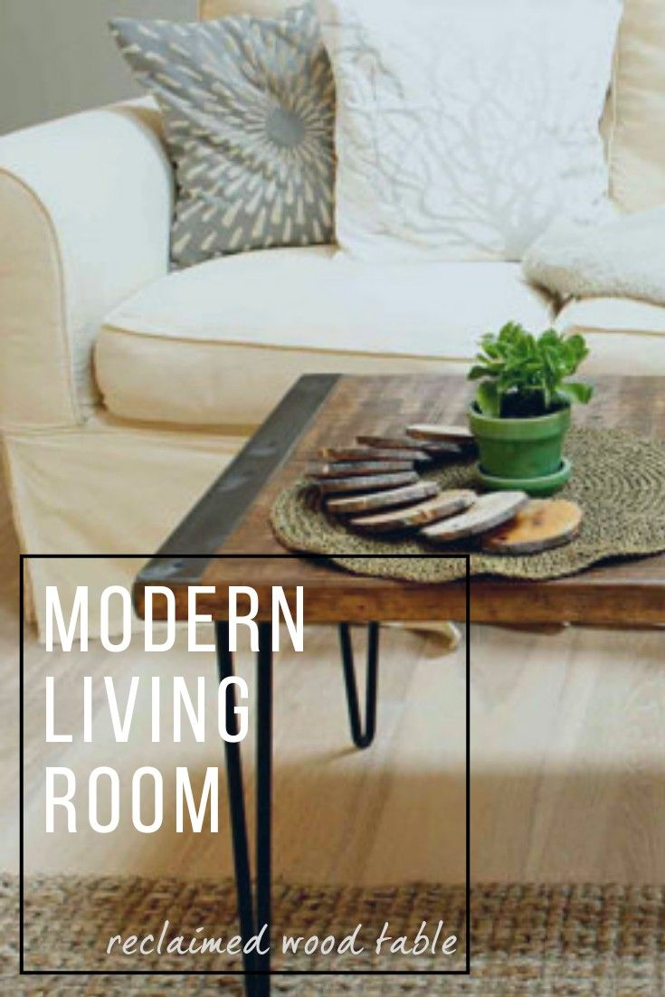 Hairpin Table Legs Are My New Obsession. Love This Reclaimed Wood Coffee  Table .. Aff / Living Room / Modern / Furniture | Home Design U0026 Decor |  Pinterest ...