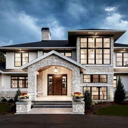 70 Most Popular Dream House Exterior Design Ideas 10