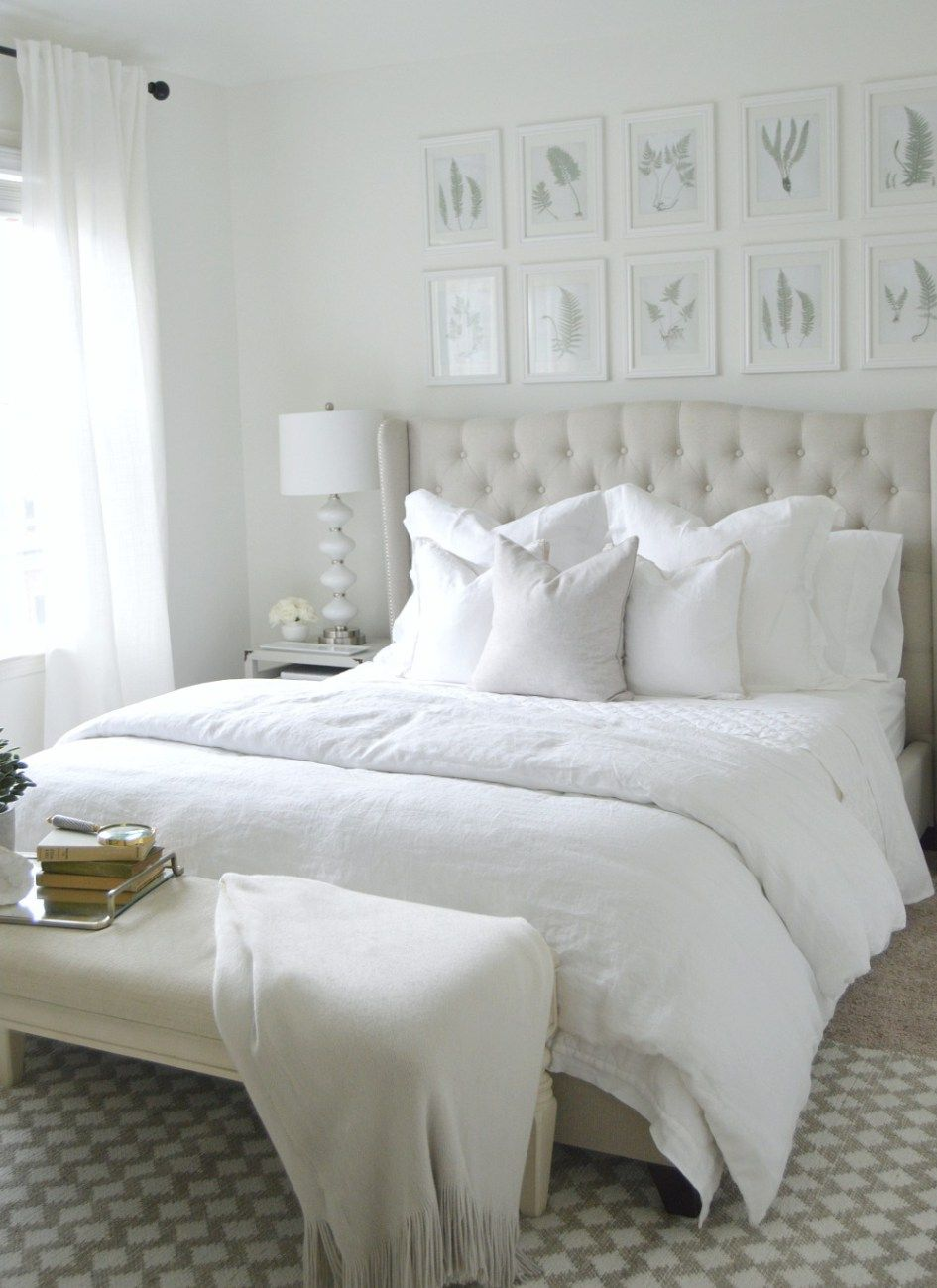 PB BED 2 The Ultimate White Bedroom
