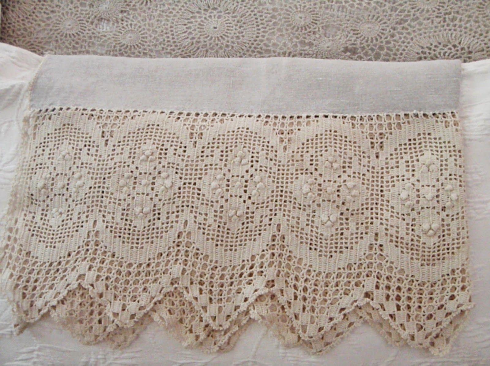whimsical linens lace vintage tablecloths crochet lace rh pinterest com