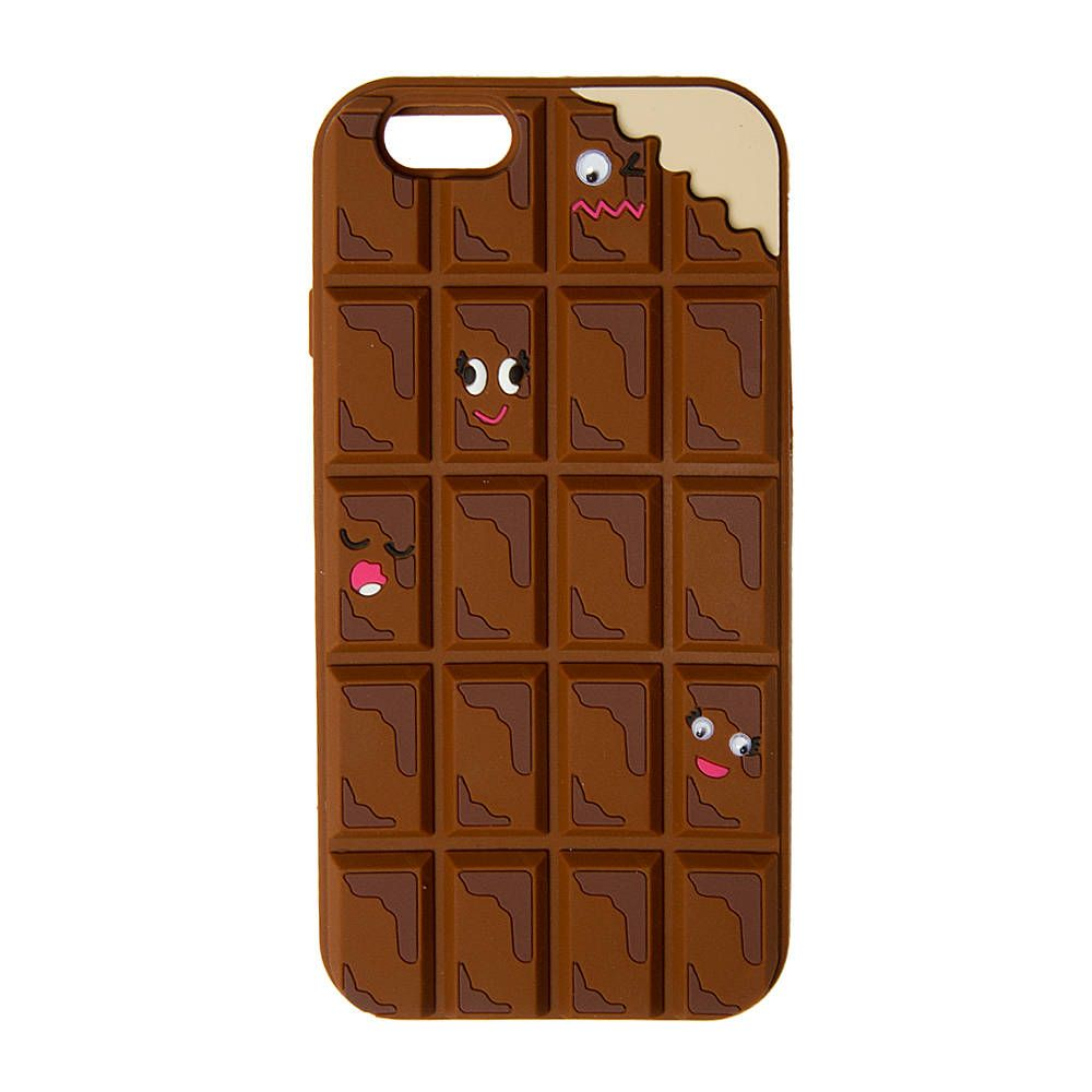3D Silicone Chocolate Bar Phone Case | Jewelry accessories, Phone ...