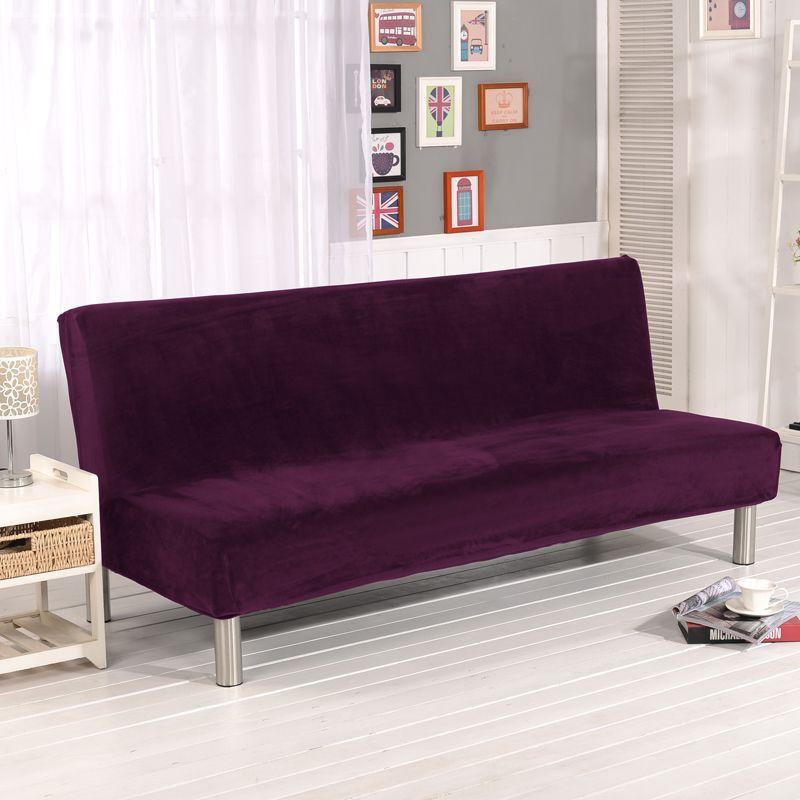 stretch sofa cover elastic armless couch cover sofa slipcovers cheap rh pinterest com