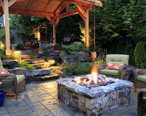 Nice Stone Outdoor Living Room Fire Pits Decorate Fire Pits for Outdoor Living Style