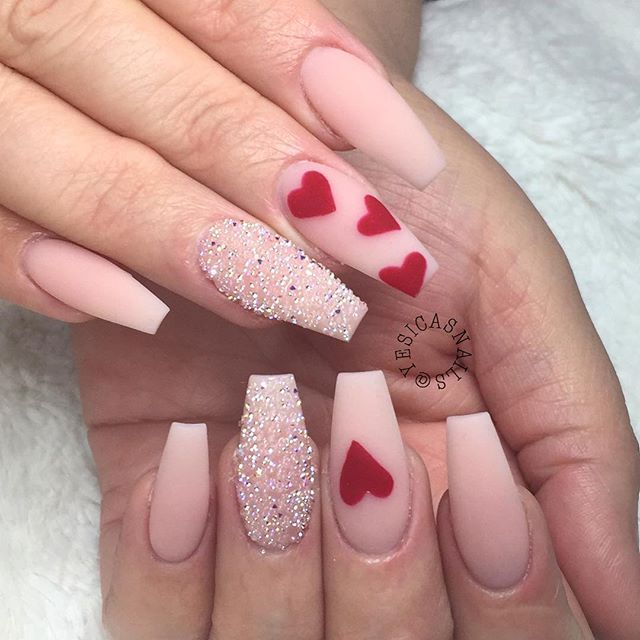 Valentines Nails Kortenstein Nail Designs Valentines Valentine S Day Nail Designs Pretty Nail Art Designs
