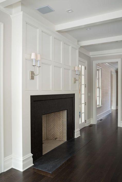 Love The Fireplace Molding Kominki
