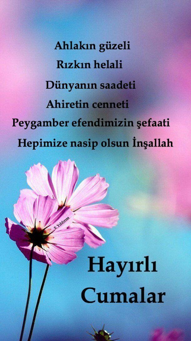 Cuma Mesajlari Instagram Guzel Sozler Cool Words Islamic Quotes Quotes