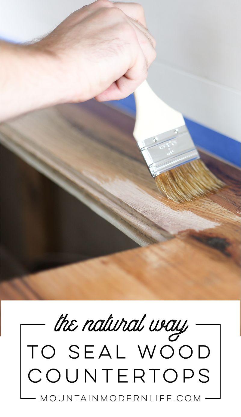 Looking For A Natural Wood Sealer Wood Sealer Wood Countertops