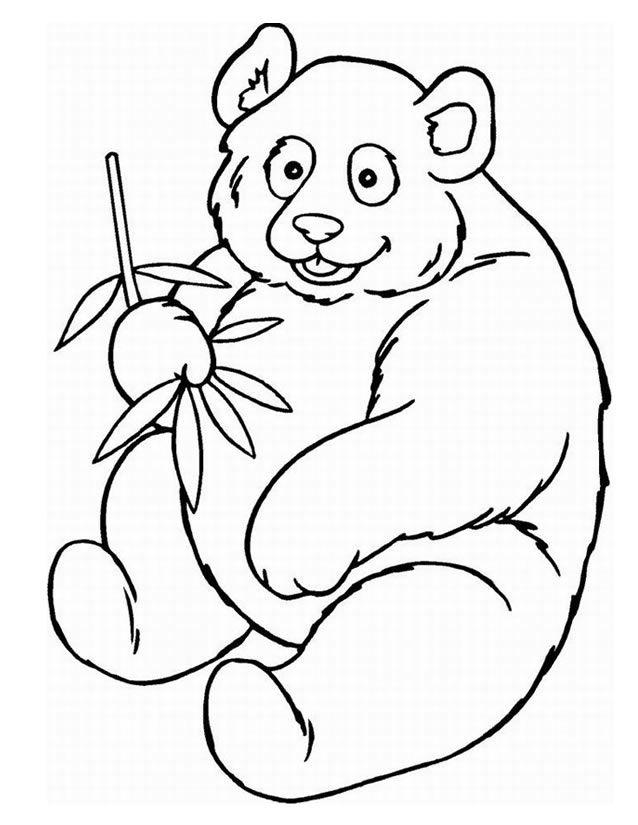 coloriage panda  u00e0 imprimer gratuitement