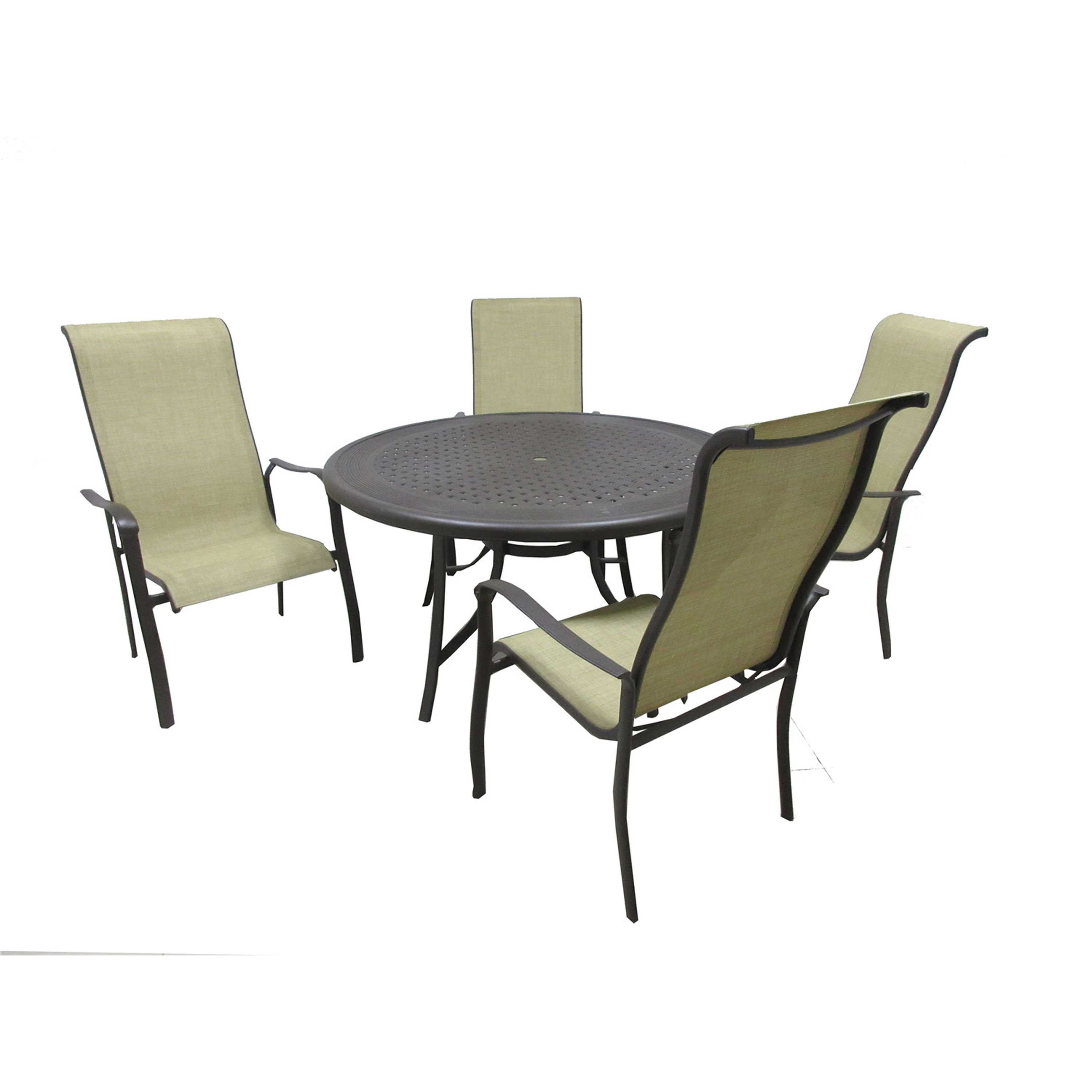 international pacifica 5 piece dining collection brownstone brown rh pinterest co uk