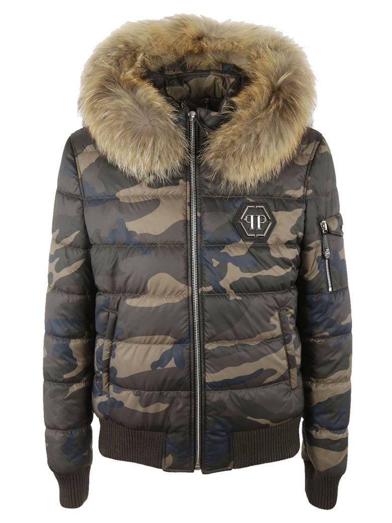 PHILIPP PLEIN Philipp Plein Camouflage Jacket. #philippplein