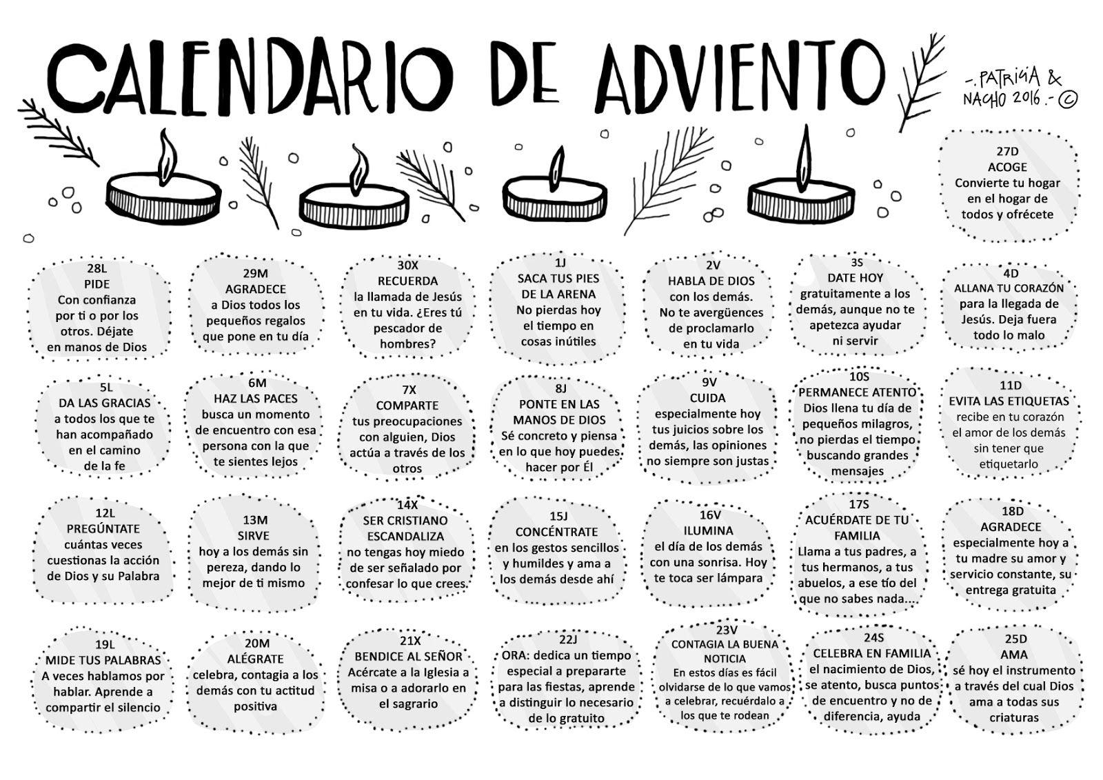 Pin De Azu Figueroa En Frases Calendario De Adviento