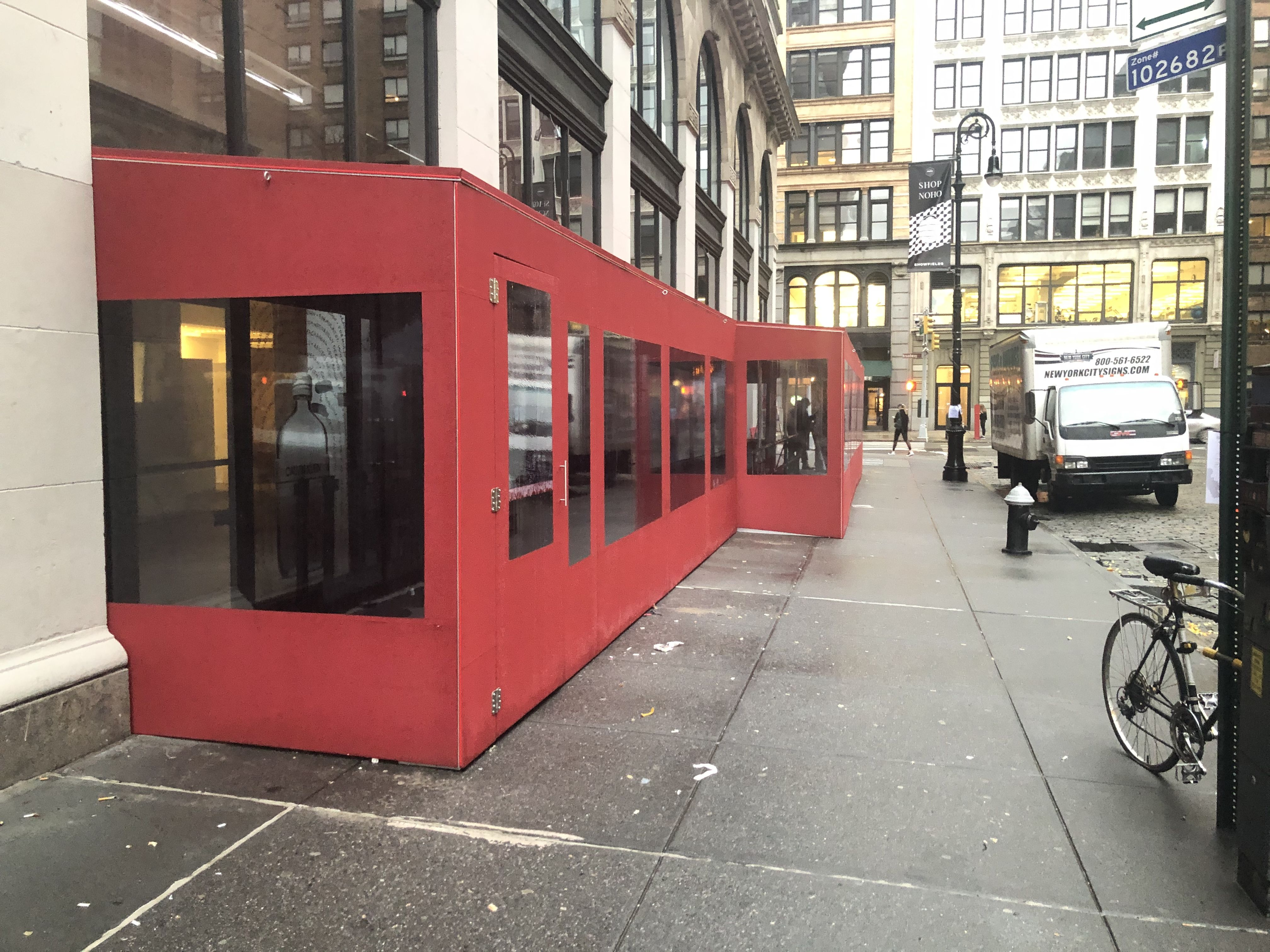 If Your Facility Needs Temporary Space We Can Manufacture Enclosures Barricades Barriers Canopies Retractabl In 2020 Roll Down Shades Enclosures Retractable Awning