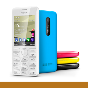 Nokia 206 | The Nokia 206 is a classic alphanumeric keypad phone