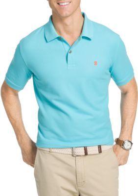 749131471d Izod Men s Big   Tall Advantage Stretch Polo Shirt - Blue Radiance - 3Xlt