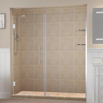 48 X 76 Single Sliding Frameless Shower Door Shower Doors