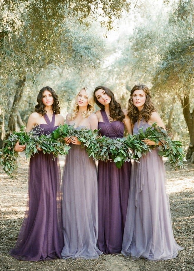 fall bridal party pictures%0A Jenny Yoo convertible bridesmaid dresses  newest one  u     Annabelle  it is a  wispy strapless
