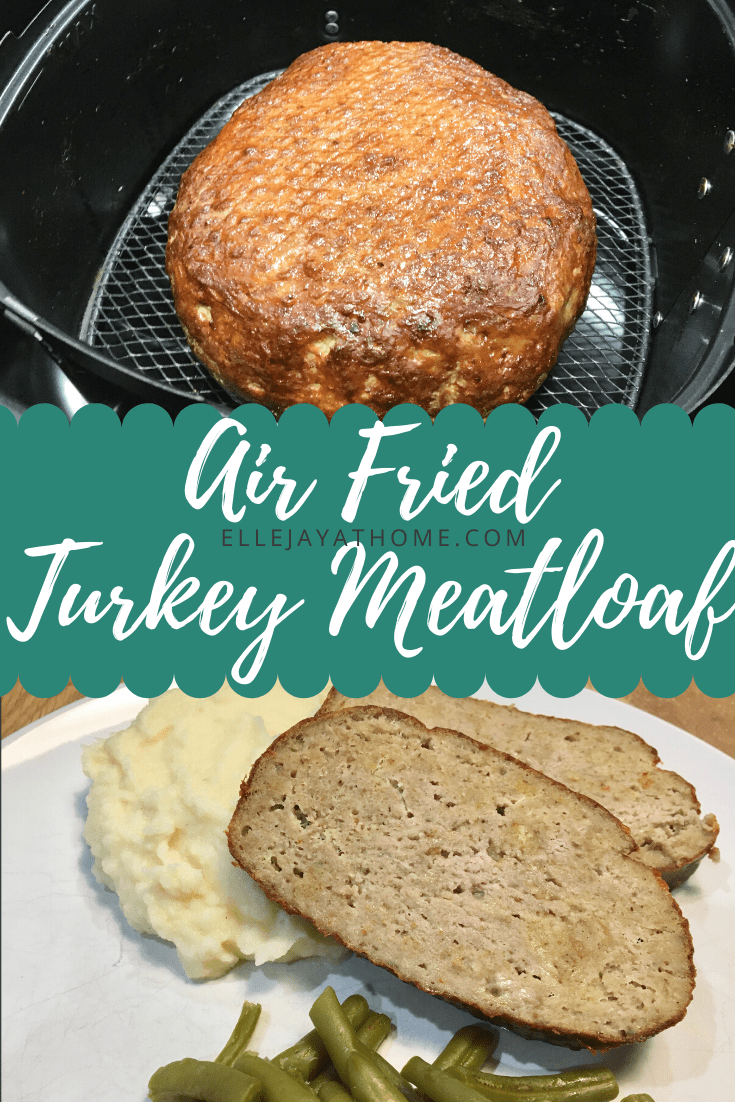 How To Make Amazing Air Fryer Turkey Meatloaf Recipe Turkey Meatloaf Air Frier Recipes Air Fryer Recipes