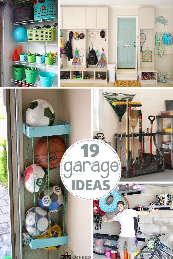 19 garage organization ideas - these tips will help you clean out your home