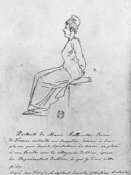 Guillotine Marie Antoinette