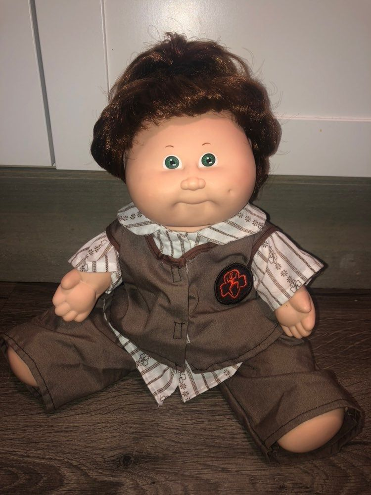 Vintage Xavier Roberts Cabbage Patch Kid Adopted 1987 Girl Auburn Green Eyes Condition Is Us Cabbage Patch Kids Dolls Cabbage Patch Kids Hair Color Auburn