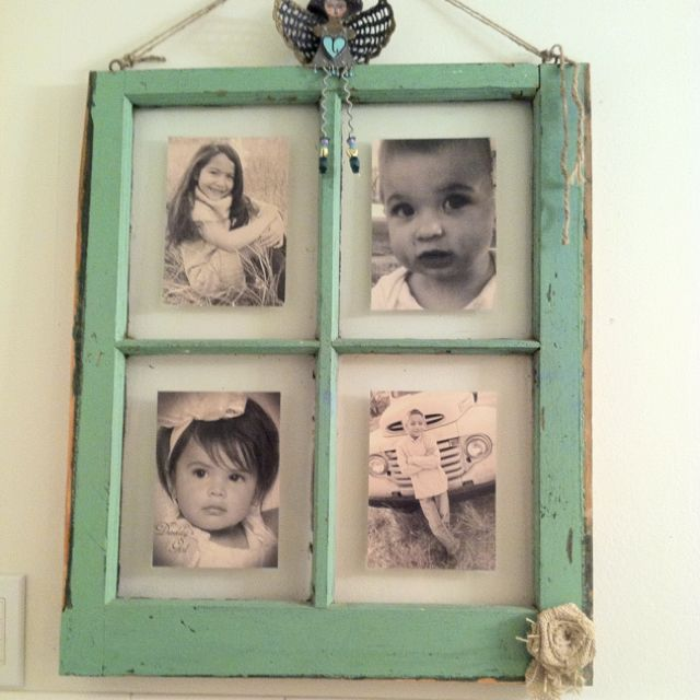me and meme made this awesome shabby chic picture frame i have all rh pinterest com