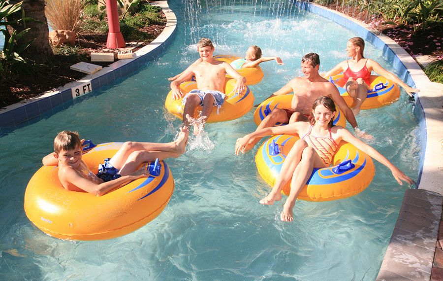 The Lazy River Pool Palm Coast Beach Hotels Hammock