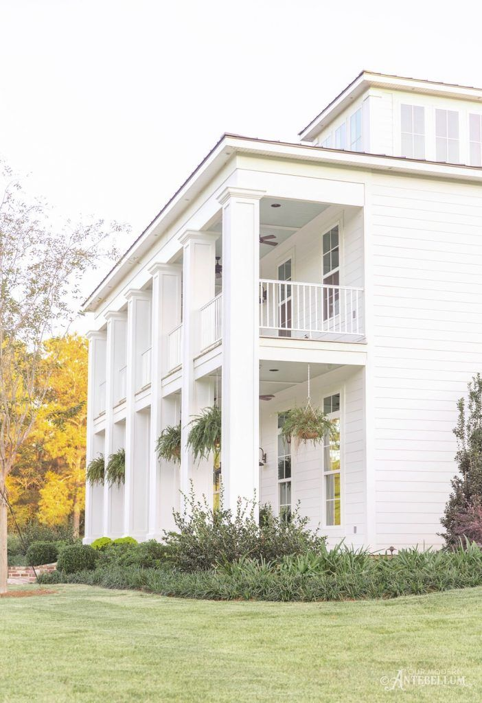 Modern Antebellum Farmhouse design, Antebellum homes