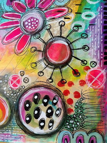 random play art journal page art journal 4 pinterest art rh pinterest com