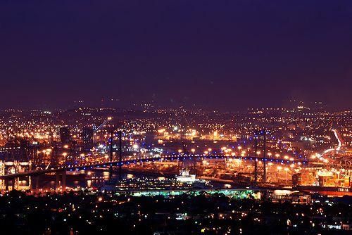 Vincent Thomas Bridge - Los Angeles Port