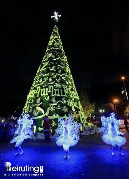 Bnshaael Lebanon Holiday Decor Christmas Tree Holiday