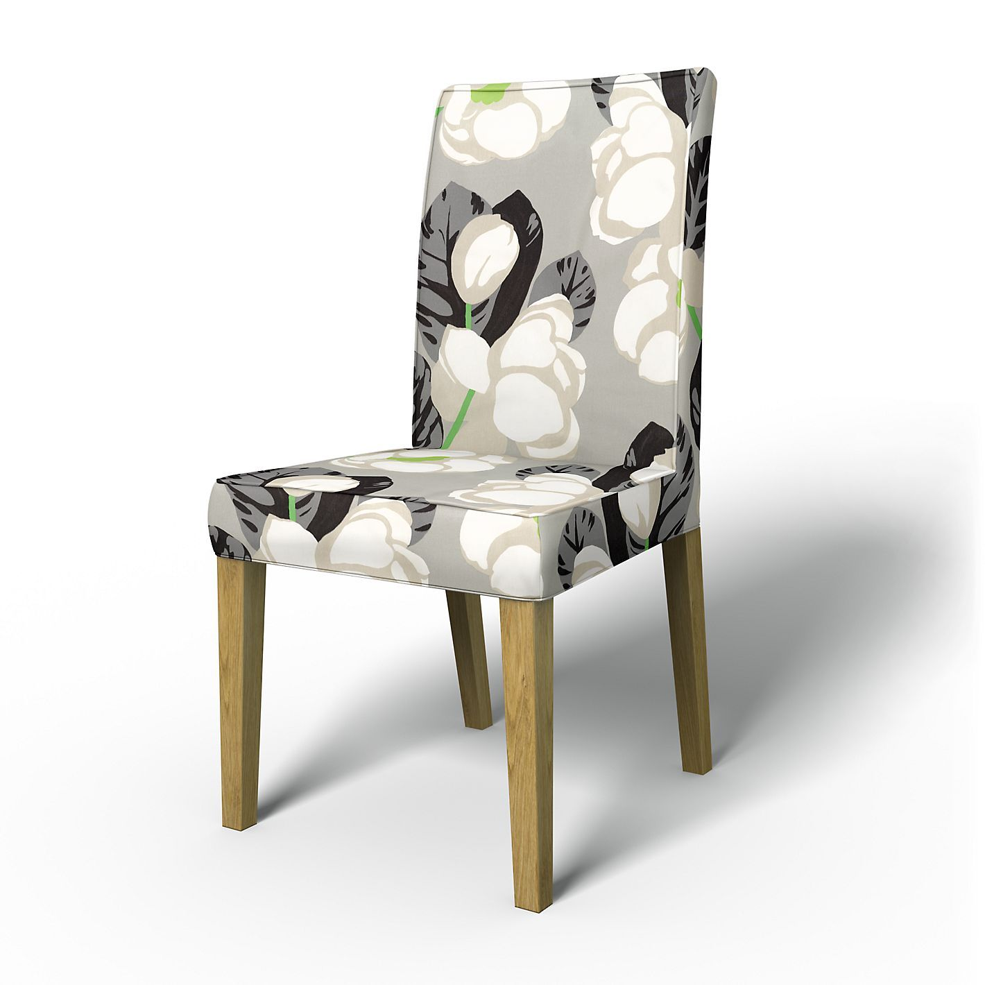 henriksdal chair cover short with piping home chair covers rh pinterest ca