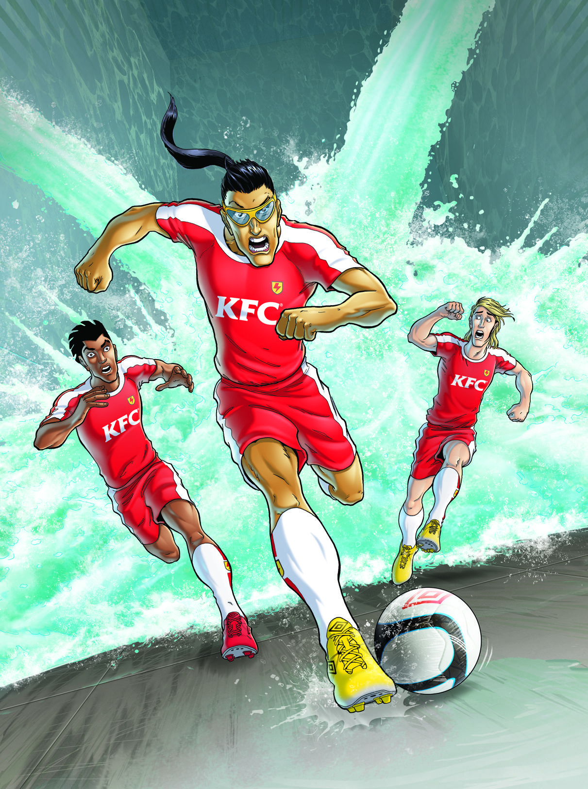 Supa Strikas South Africa And Kfc Best Pictures Ever Animated Characters Comics