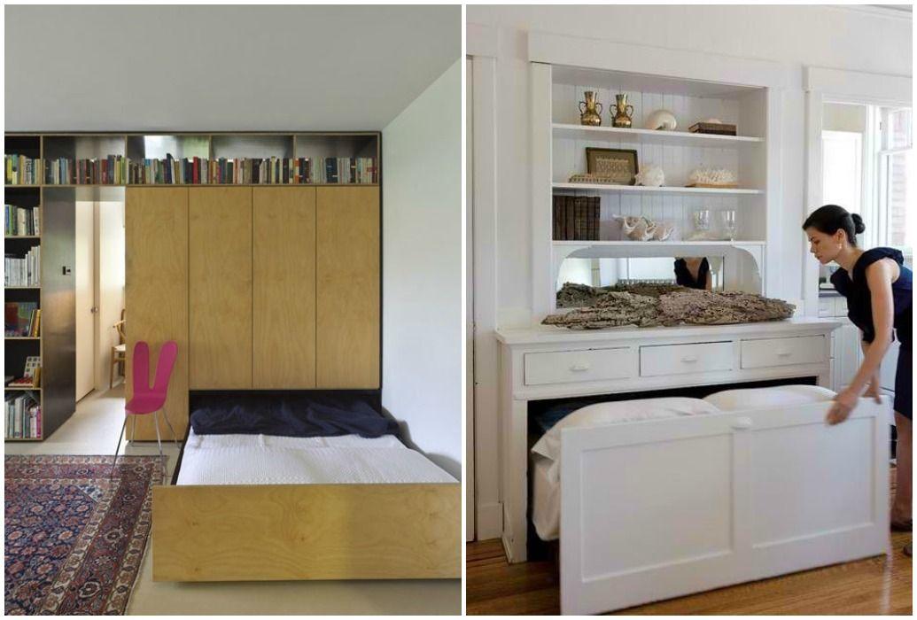 04 camas ocultas en armario corredera muebles que - Camas ocultas en muebles ...