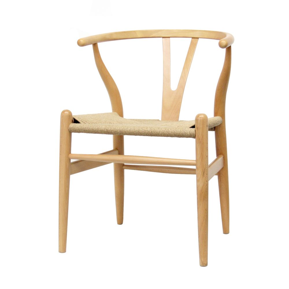 wood chair with hemp seat overstock shopping great deals on rh pinterest at