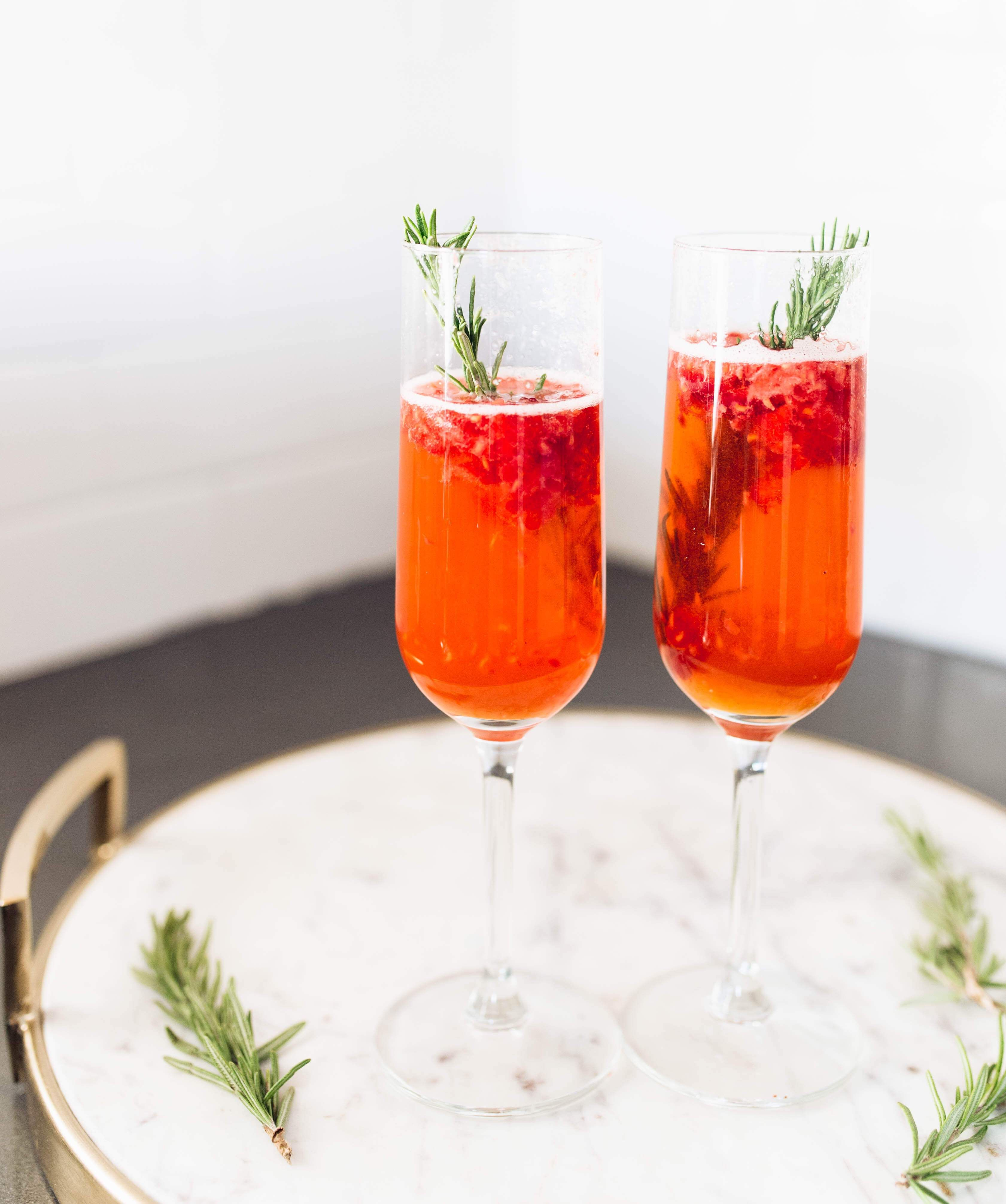 Rosemary Winter Cocktail Recipe Drinks Winter Cocktails