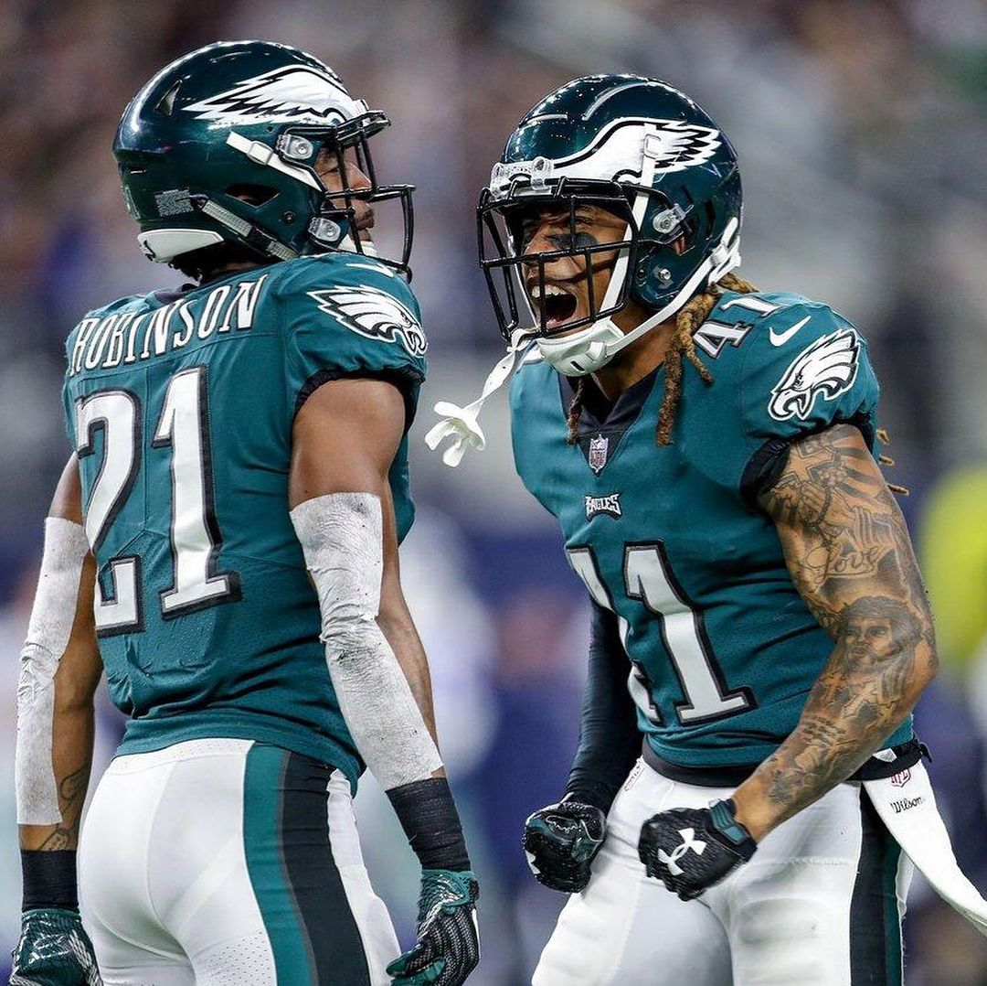 Ronald Darby recorded his first interception as an Eagle