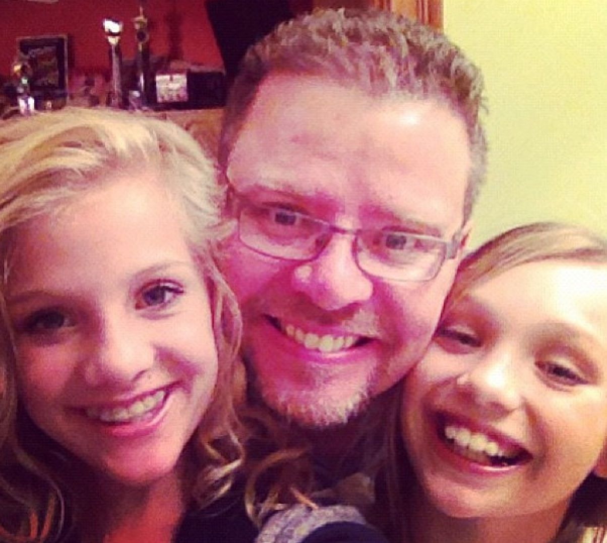 Paige and Randy Hyland with Maddie Ziegler | Dance moms