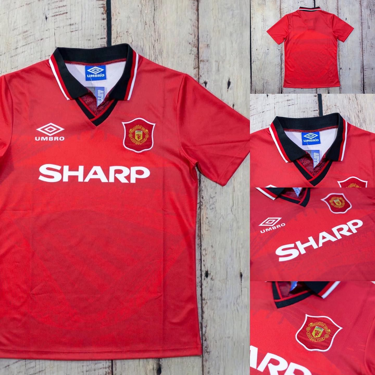 94 96 Manchester United Home Retro Soccer Shirt In Stock Link In Bio Price 19 99 29 99 Free Shipping M In 2020 Soccer Shirts Football Is Life Mens Tops