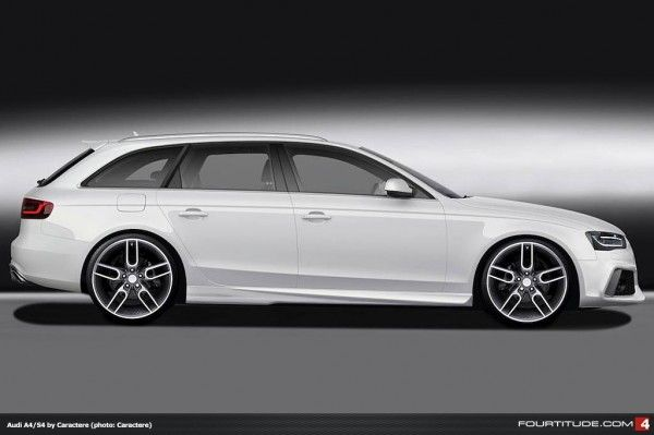 New Caractere Audi A4 And S4 Avant Continues Latest Oe Rs Car Look