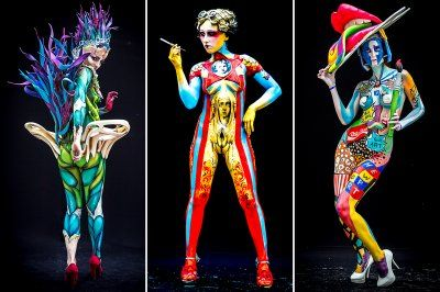 Bodypainting Festival In 2020 Body Painting Festival World Bodypainting Festival Body Painting Pictures