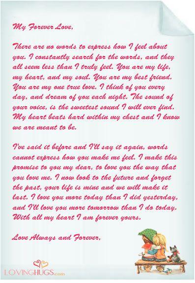 Love Letter | Love Letter Templates | Pinterest