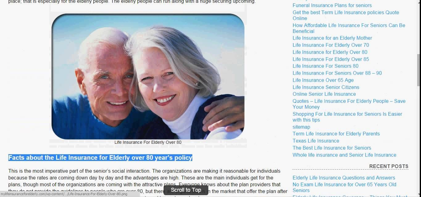 Life Insurance For Over 50 U2013 85 No Medical Exam Quotes | Life Insurance, Senior  Life Insurance And Affordable Life Insurance