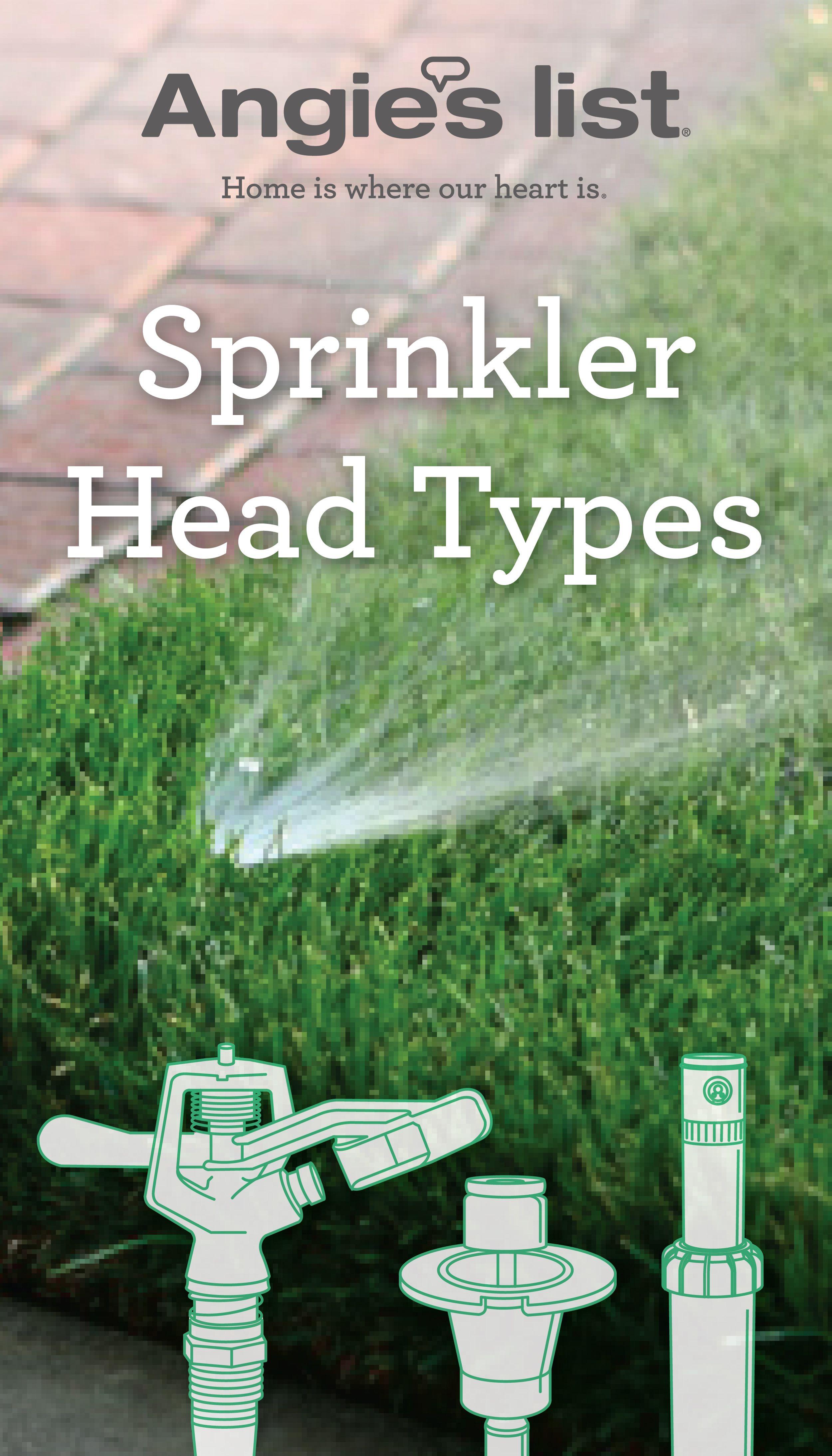 Sprinkler Head Types And Sprinkler Repair Sprinkler Repair