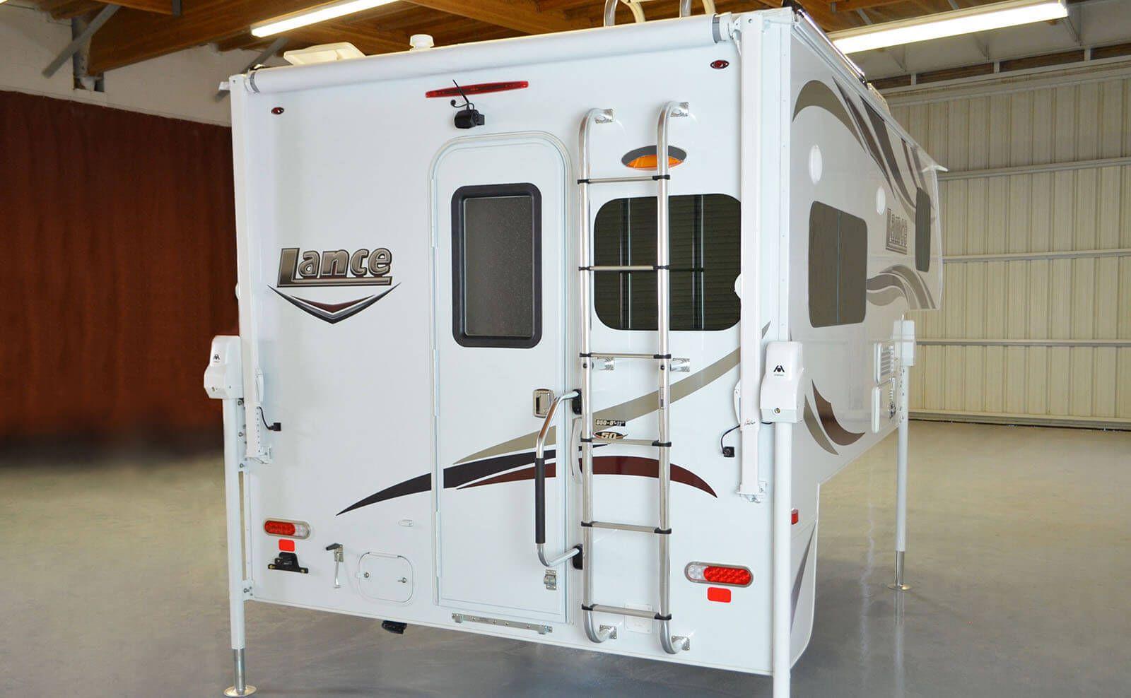 Exterior (With images) Truck camper, Camper, Cab over