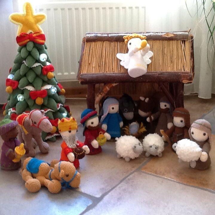 Patroon Uit Het Boekje Haak Je Eigen Kerststal Van Christel Krukkert