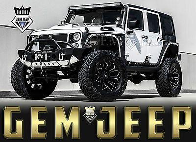ebay 2017 jeep wrangler fully customized unlimited sport utility 4 rh pinterest es